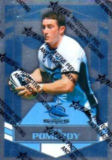 2012 NRL Dynasty Parallel SP50 Ben Pomeroy Sharks