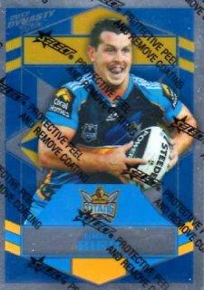 2012 NRL Dynasty Parallel SP54 Greg Bird Titans