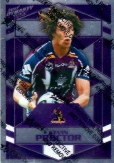 2012 NRL Dynasty Parallel SP85 Kevin Proctor Storm