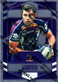 2012 NRL Dynasty Parallel SP87 Cameron Smith Storm