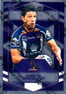 2012 NRL Dynasty Parallel SP88 Gareth Widdop Storm