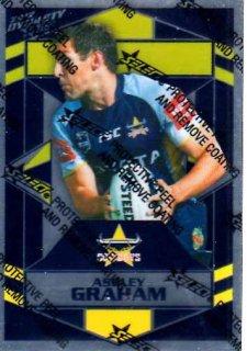 2012 NRL Dynasty Parallel SP102 Ashley Graham Cowboys