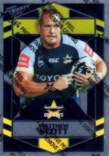 2012 NRL Dynasty Parallel SP105 Matthew Scott Cowboys