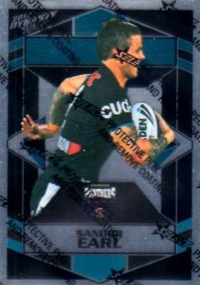 2012 NRL Dynasty Parallel SP127 Sandor Earl Panthers