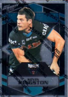 2012 NRL Dynasty Parallel SP130 Kevin Kingston Panthers