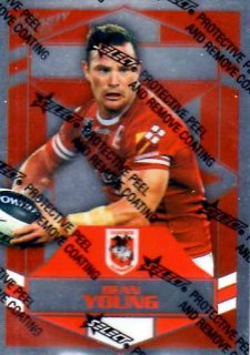 2012 NRL Dynasty Parallel SP148 Dean Young Dragons