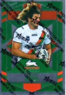 2012 NRL Dynasty Parallel SP156 Matt King Rabbitohs