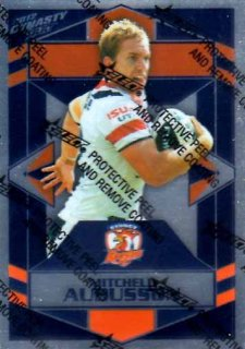 2012 NRL Dynasty Parallel SP162 Mitchell Aubusson Roosters