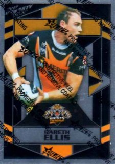 2012 NRL Dynasty Parallel SP186 Gareth Ellis Tigers