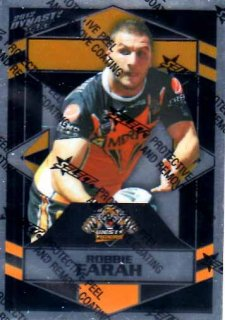 2012 NRL Dynasty Parallel SP187 Robbie Farah Tigers