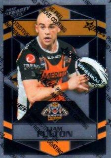2012 NRL Dynasty Parallel SP188 Liam Fulton Tigers