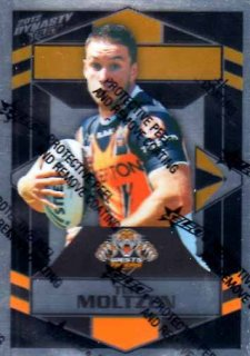 2012 NRL Dynasty Parallel SP193 Tim Moltzen Tigers