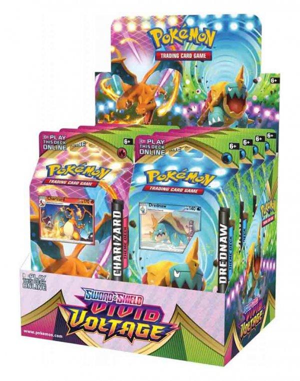 Pokemon TCG Sword & Shield Vivid Voltage Theme Deck
