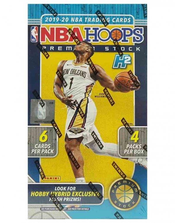 2019-20 Panini NBA Basketball Hoops Premium Hobby Box