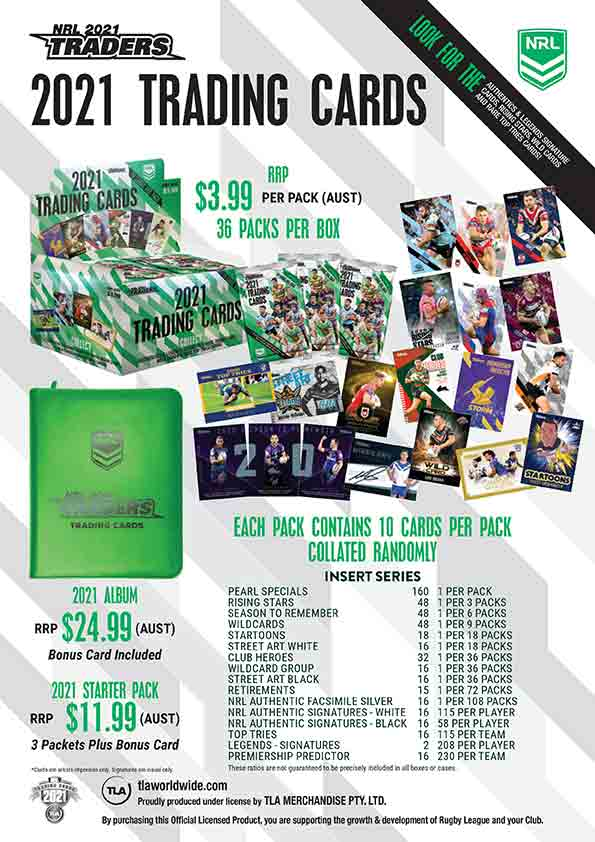 2021 NRL Traders Sales Flyer
