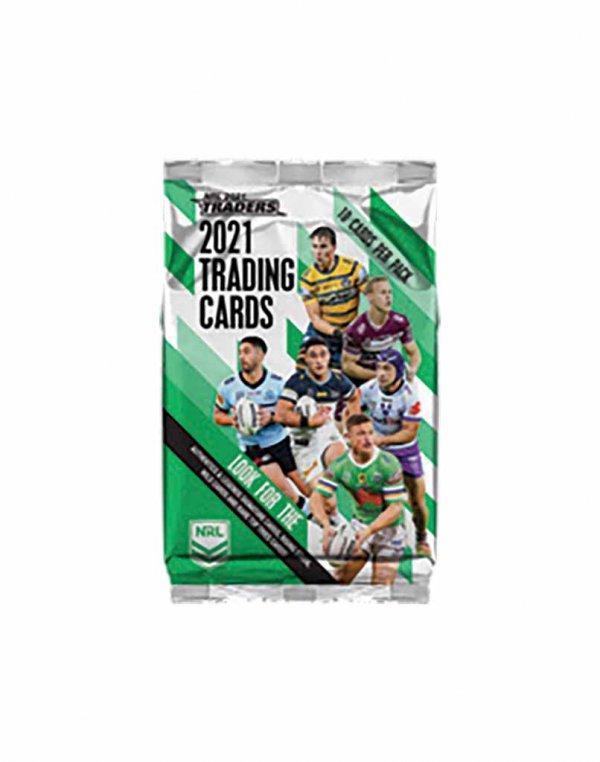 2021 TLA NRL Traders Sealed Trading Card Packet