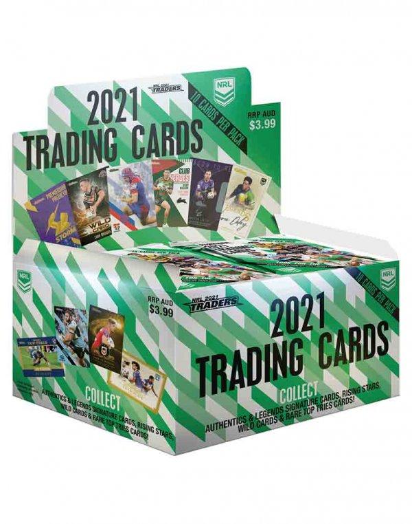2021 TLA NRL Traders Sealed Trading Card Box