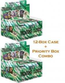 2021 TLA NRL Traders Sealed Trading Card 12-Box Case and Priority Box Combo