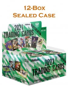 2021 TLA NRL Traders Sealed Trading Card 12-Box Case