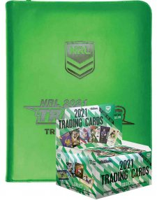 2021 TLA NRL Traders Sealed Trading Card Box and Folder / Album Combo