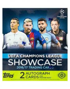 2016/17 Panini UEFA Champions League Showcase Hobby Box