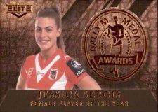 2020 NRL Elite Dally M Awards Priority DM15 Jessica Sergis Dragons