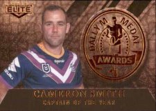 2020 NRL Elite Dally M Awards Priority DM17 Cameron Smith Storm