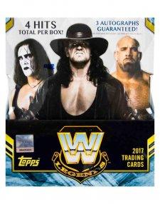 2017 Topps Legends of WWE Wrestling Hobby Box