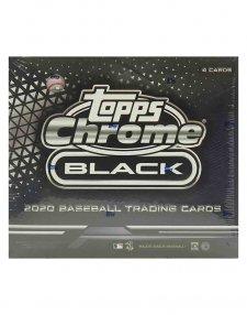 2020 Topps MLB Baseball Chrome Black Hobby Box
