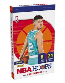 2020-21 Panini NBA Basketball Hoops Hobby Box