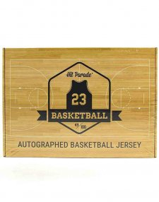 2020/21 Hit Parade Autographed Basketball Jersey Box - Series 5
