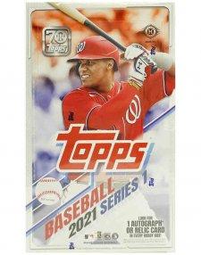 2021 Topps MLB Baseball Series 1 Hobby Box