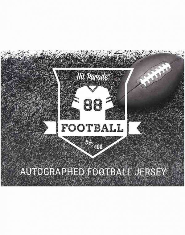 2020 Hit Parade Autographed Football Jersey Box – Series 19