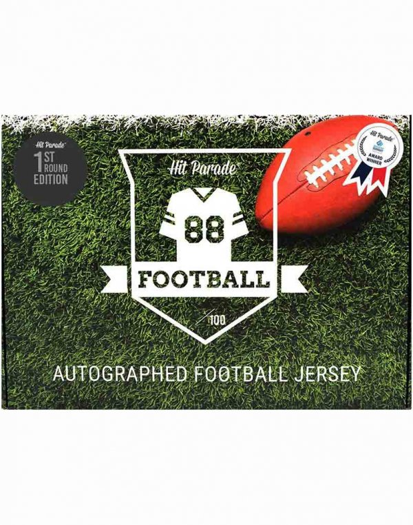 2020 Hit Parade Autographed 1st Round Edition Football Jersey Box – Series 10