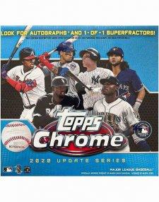 2020 Topps MLB Baseball Chrome Update Mega Box