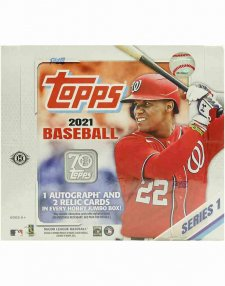 2021 Topps MLB Baseball Series 1 Jumbo Hobby Box