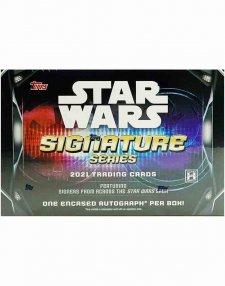 2021 Topps Star Wars Signature Series Hobby Box