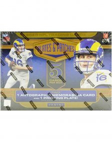 2020 Panini NFL Football Plates & Patches Hobby Box