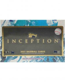 2021 Topps Inception MLB Baseball Hobby Box
