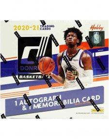 2020-21 Panini NBA Basketball Donruss Hobby Box