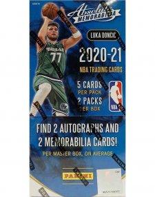 2020-21 Panini NBA Basketball Absolute Memorabilia Hobby Box