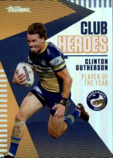 2021 NRL Traders Club Heroes CH19 Clinton Gutherson Eels