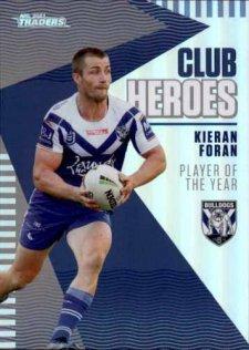 2021 NRL Traders Club Heroes CH5 Kieran Foran Bulldogs