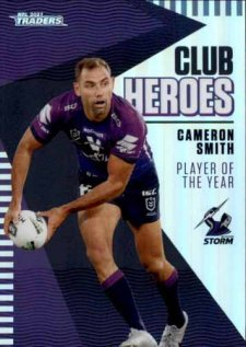 2021 NRL Traders Club Heroes CH13 Cameron Smith Storm