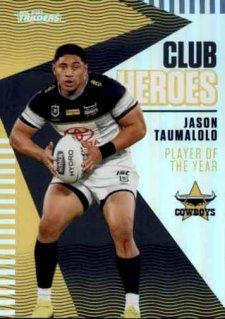 2021 NRL Traders Club Heroes CH17 Jason Taumalolo Cowboys