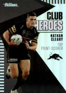 2021 NRL Traders Club Heroes CH22 Nathan Cleary Panthers