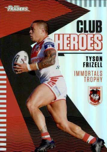 2021 NRL Traders Club Heroes CH26 Tyson Frizell Dragons
