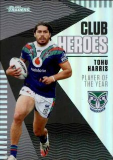 2021 NRL Traders Club Heroes CH29 Tohu Harris Warriors