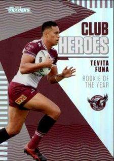 2021 NRL Traders Club Heroes CH11 Tevita Funa Sea Eagles