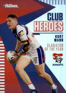 2021 NRL Traders Club Heroes CH16 Kurt Mann Knights